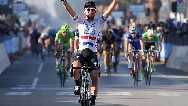 Mark Cavendish gewinnt souverän die 6. Etappe beim Tirreno.