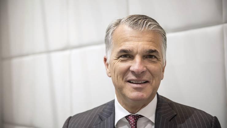 Sergio Ermotti verlässt die UBS im Herbst 2020.