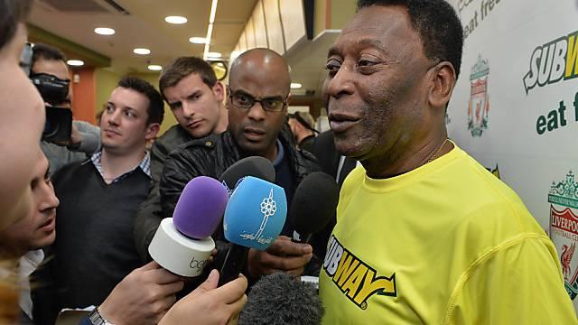 Erholt sich im Spital von Prostata-OP: Fussball-Idol Pelé (Archiv)