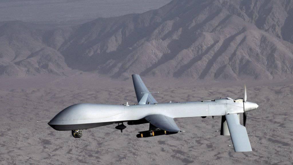 Bislang informieren die USA nur sehr zurückhaltend über die Opfer von Drohnenattacken. Bald sollen genauere Zahlen veröffentlicht werden. (Archivbild)