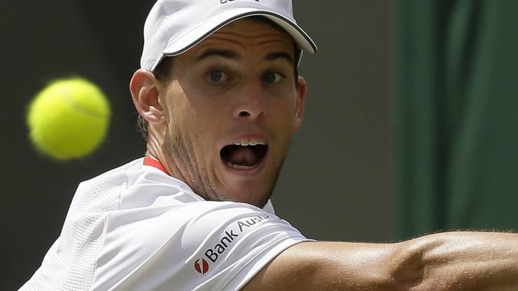 Für Dominic Thiem ist das Wimbledon-Turnier schon zu Ende