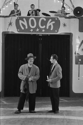 Zirkus Nock in Solothurn, 1961.