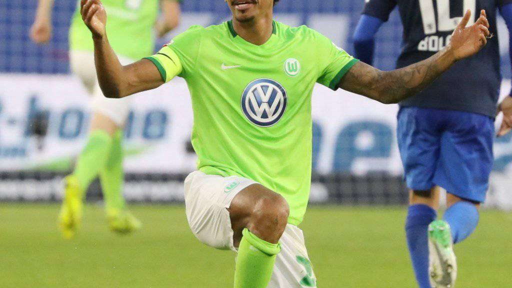 Wechselt von Wolfsburg zu Marseille: der brasilianische Internationale Luiz Gustavo