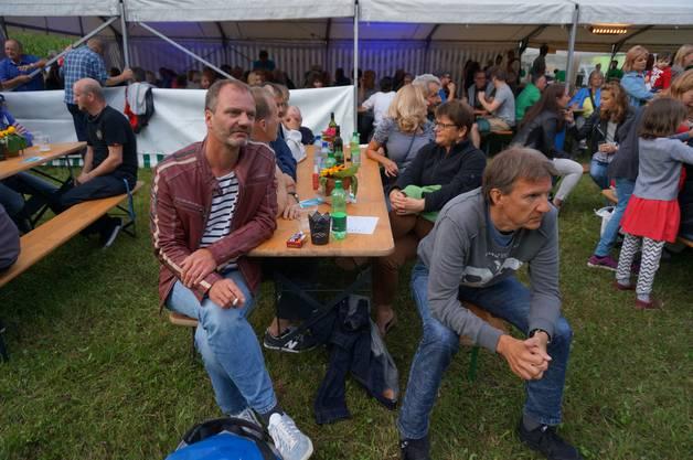 Im Bild Patrick Annen und Juerg Amacher von Soulcase die letztes Jahr am Open Air aufgetreten sind.