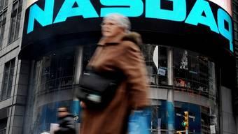 Die US-Börse in New York (Archiv)
