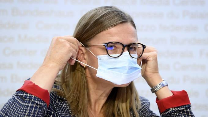 Virginie Masserey vom BAG sagte am Freitag: «Die Situation ist langsam etwas besser, aber immer noch fragil.»