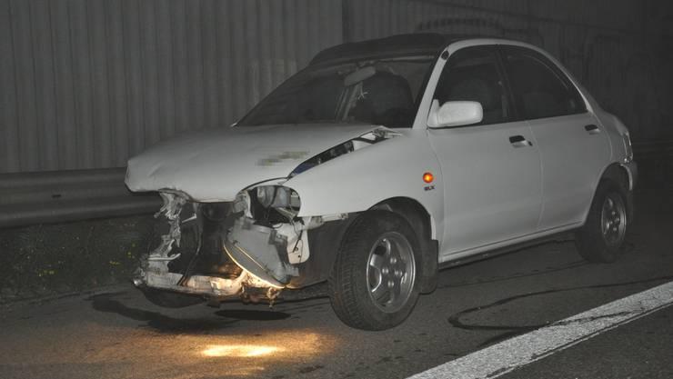 Die Lenkerin fuhr einen weissen Personenwagen.