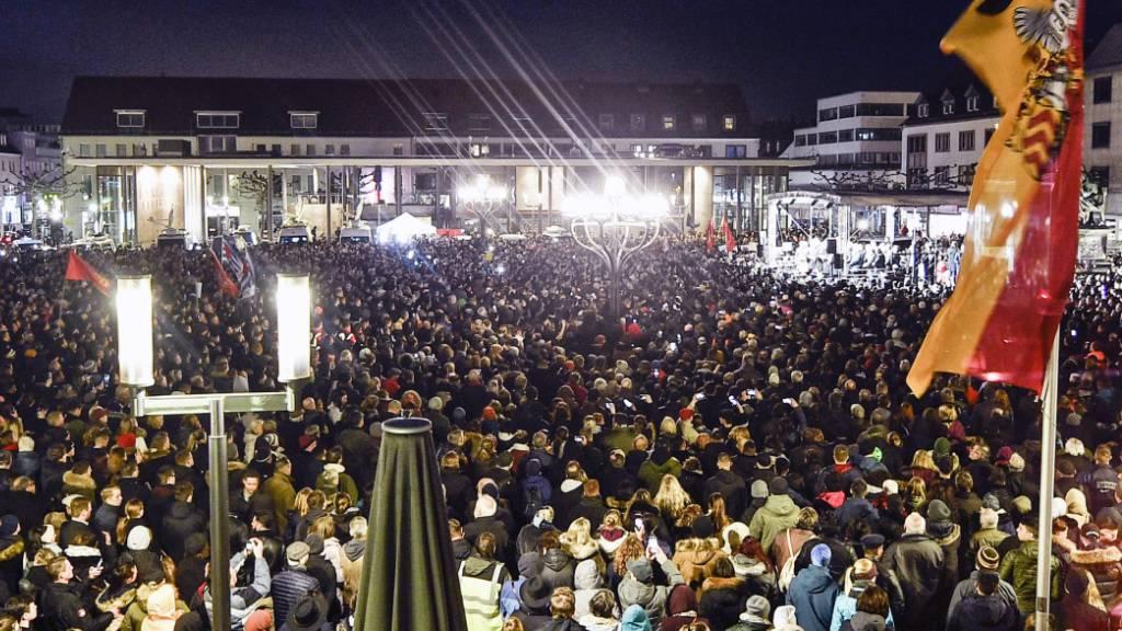 Kritik an AfD nach Anschlag in Hanau – Ermittlungen gehen weiter