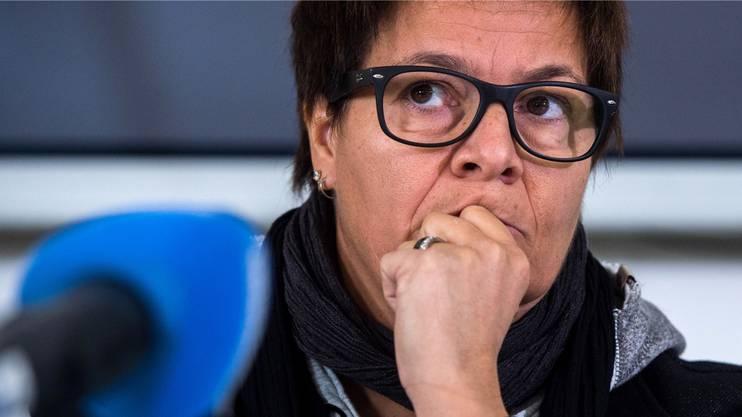 Lugano-Präsidentin Vicky Mantegazza hat Cassis zu einem Eishockeyspiel eingeladen.
