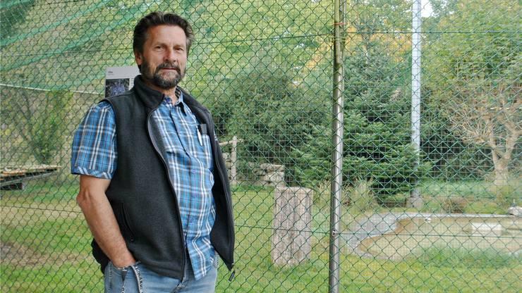 Bruno Gardelli von der Storchen- und Wildvogelpflegestation in Möhlin.(Archivbild)