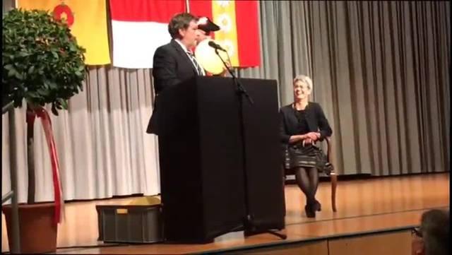 Impressionen von der Feier für Kantonsratspräsidentin 2019 Verena Meyer in Lüterkofen