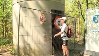 Kurt Hess trainierte lange für sein Wahnsinnsprojekt. 42 Kilometer wollte der Extrem-Treppenläufer aus dem Wynental vertikal zurücklegen. Der 67-Jährige muss jetzt aber seine Pläne für den Höhenmarathon wegen des Coronavirus vorerst vertagen.