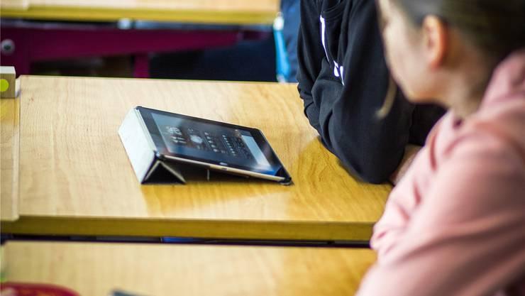 Pro Klasse stehen zwei Geräte zur Verfügung.