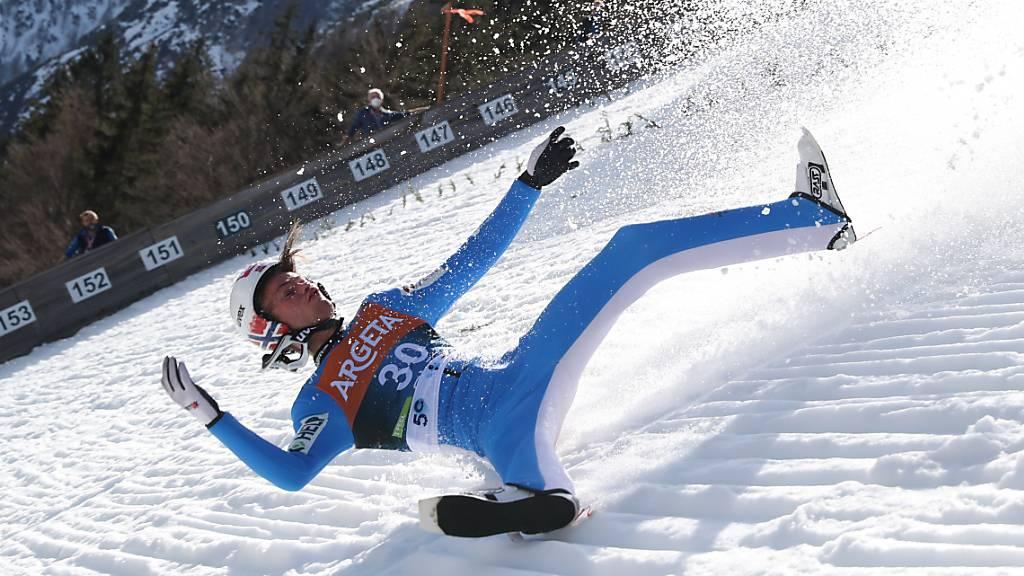 Schwerer Sturz von Tande überschattet Skiflug-Weltcup