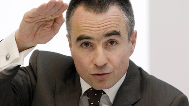 CEO Daniel Schmutz konnte an der Medienkonferenz einen Gewinn verkünden