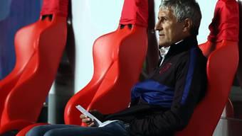 Das Debakel gegen die Bayern war eine Niederlage zu viel: Quique Setien ist nach nur acht Minuten nicht mehr Trainer des FC Barcelona