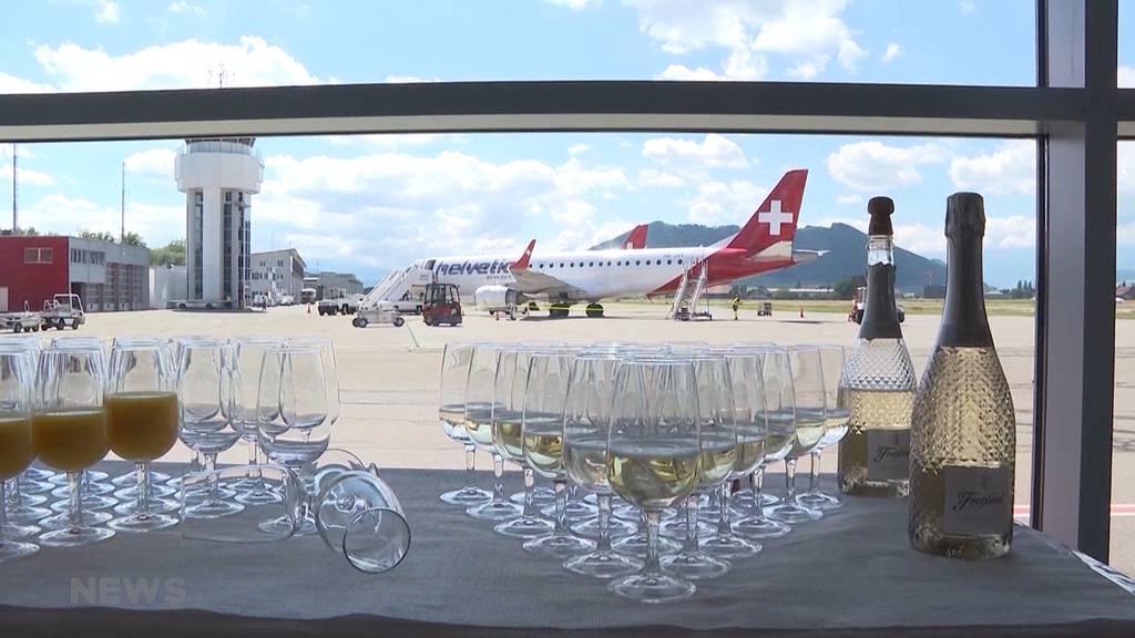 flyBAIR-Premiere: Erster Flug ab Bern-Belp nach Mallorca
