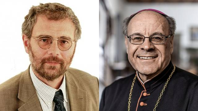 Simon Spengler und Vitus Huonder