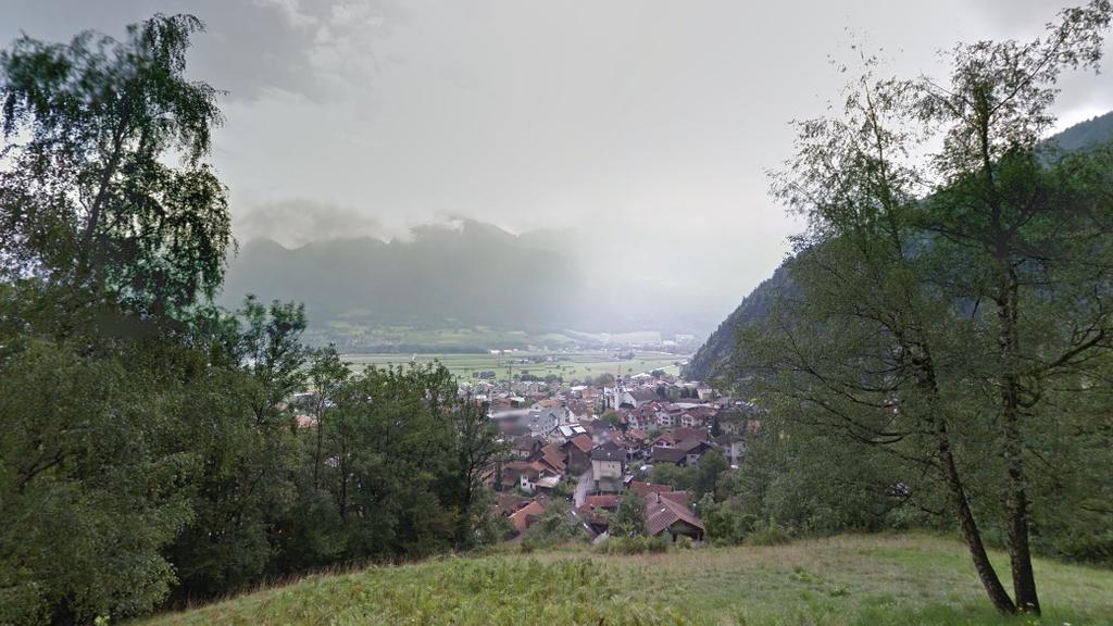 Bei Untervaz in Graubünden wurde im Juli dieses Jahres ein verwester Unterschenkel gefunden. (Symbolbild Untervaz)