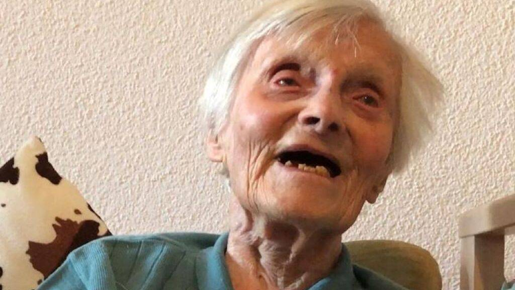 Älteste Schweizerin stirbt im Alter von 112 Jahren