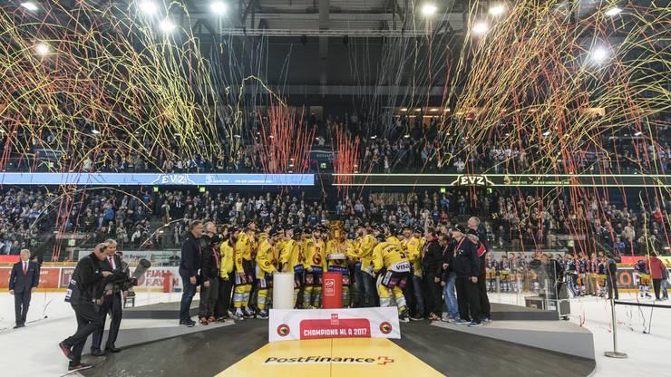 Es ist der fünfte Meistertitel der Berner seit 1998.