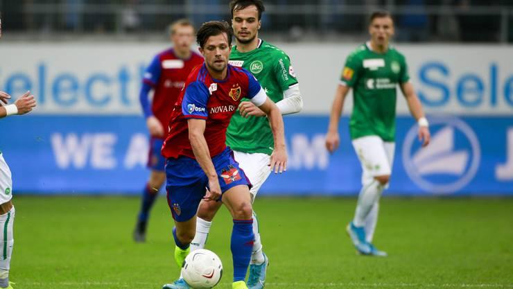 Schwierige Angelegenheit in der Ostschweiz für Captain Valentin Stocker und sein Team.
