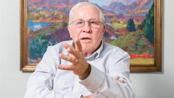 77-jährig und kein bisschen altersmilde: SVP-Vordenker Christoph Blocher.