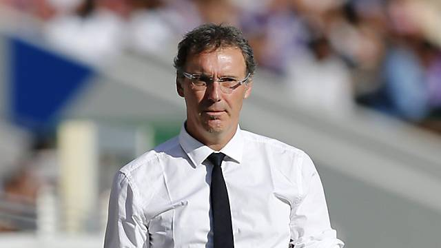 PSG-Coach Laurent Blanc