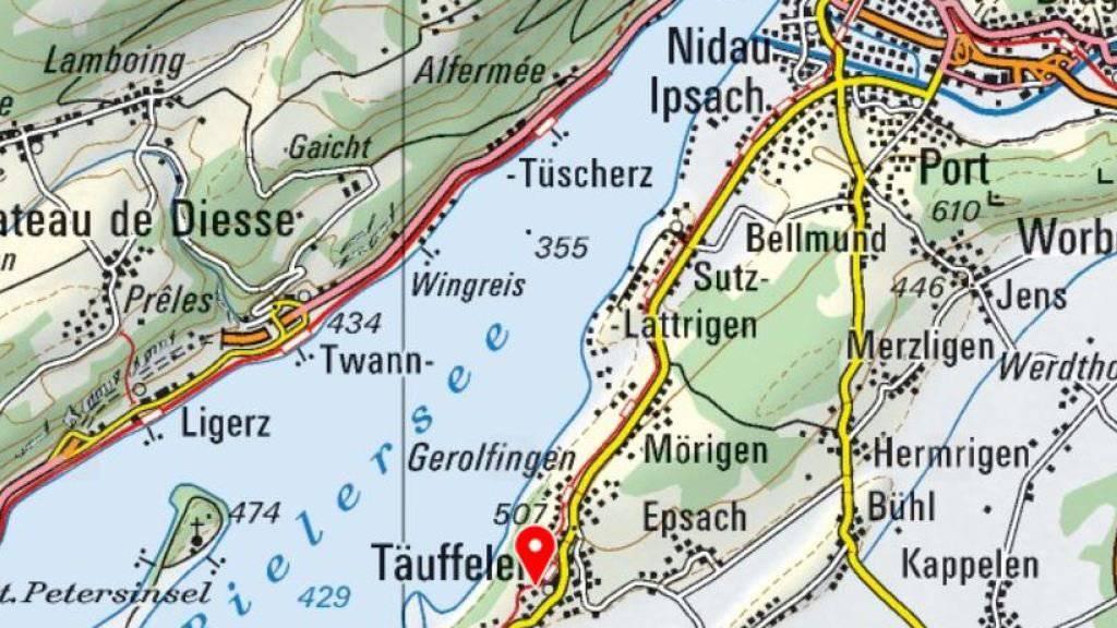 Auf der Hauptstrasse in Täuffelen am Bielersee kam es Ende 2011 zum schrecklichen Unfall.