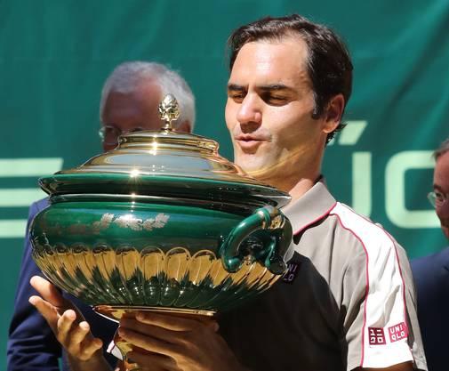 2019 gewann Roger Federer zum zehnten Mal in Halle.