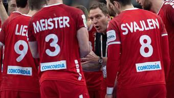 Nati-Trainer Michael Suter (Mitte): Schritt um Schritt vorwärts.