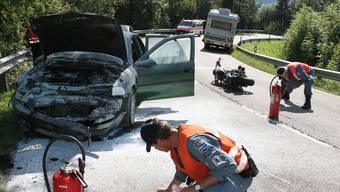 Tödlicher Unfall auf Staffeleggstrasse von 2006