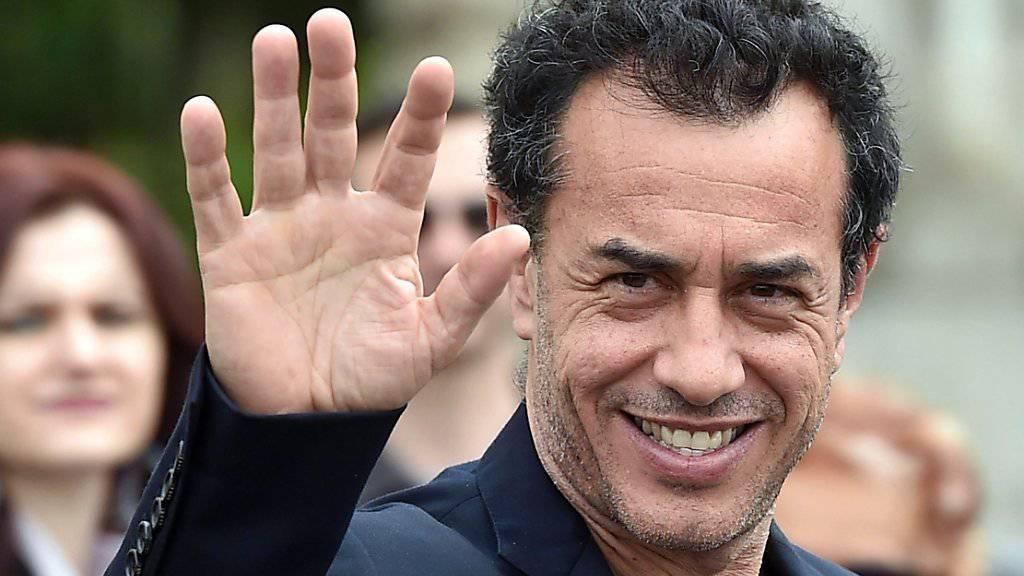 Matteo Garrone nach der Verleihung der «David di Donatello Awards 2016», bei der er den Hauptpreis erhalten hat.