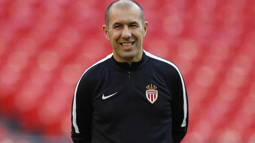 Monacos Trainer Leonardo Jardim hat gut lachen: Seit er zurück ist, gewinnt das Team wieder regelmässig