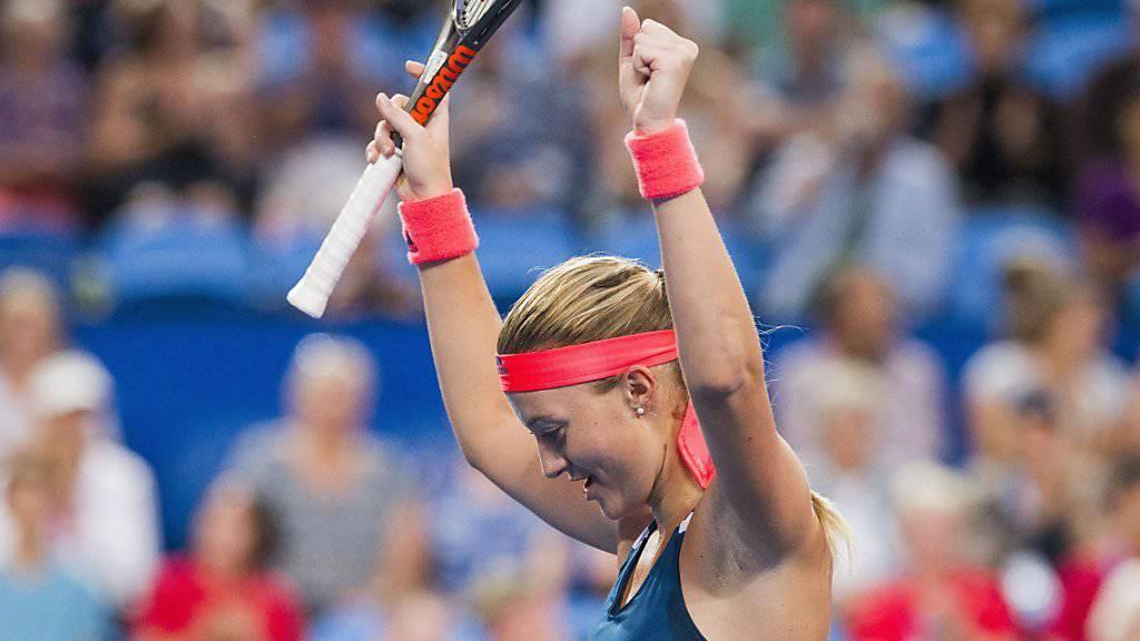 Frankreichs Kristina Mladenovic gewinnt mit Richard Gasquet den Hopman Cup