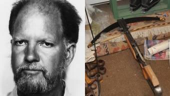 Bewaffnet in der Region Biel unterwegs: Der flüchtige Rentner Peter K.