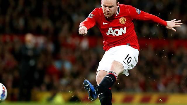 21. Saisontor für die United: Wayne Rooney