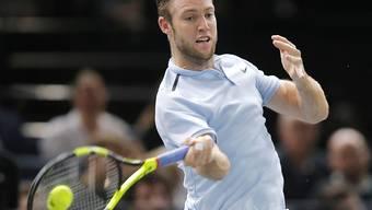 Mit dem Turniersieg in Paris-Bercy würde sich Jack Sock für die ATP Finals in London qualifizieren