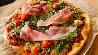 Die «Wildeisen»-Pizza: Weder der Belag noch die Machart, hier ist nichts gewöhnlich.