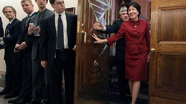 Die Senatoren Collins und Nelson