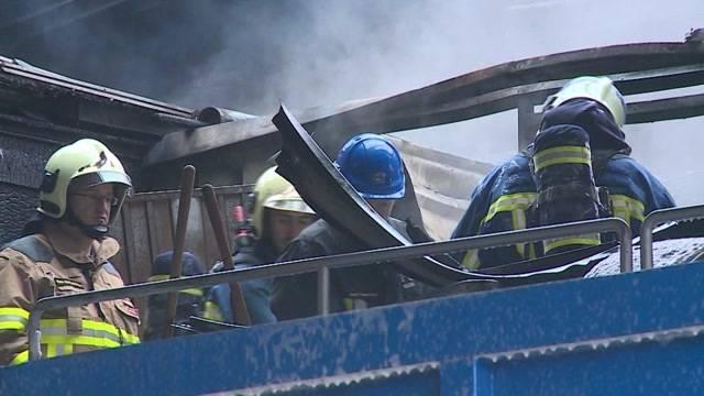 Feuerwehr-Grossaufgebot in Brunegg