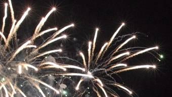 Ein Feuerwerk (Symbolbild)