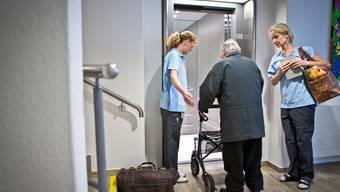 Der Einzug in ein ausserkantonales Pflegeheim bleibt heute den meisten Interessenten verwehrt.