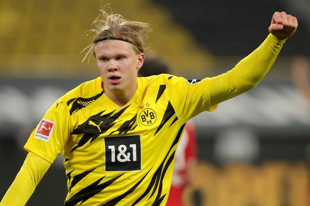 Er lobt seinen neuen Teamkollegen: Erling Haaland.
