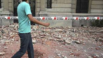 Chile wurde von einem Nachbeben erschüttert