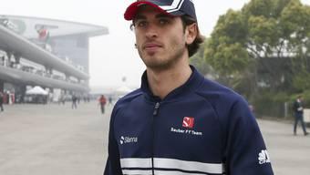 Antonio Giovinazzi wird das Sauber-Cockpit neben Kimi Räikkönen in der nächsten Saison besetzen