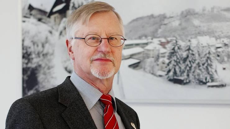 «Die Funktion als Vizepräsident in der zweiten Reihe entspricht mehr meinem Naturell», sagt Peter Eglin.Kenneth Nars