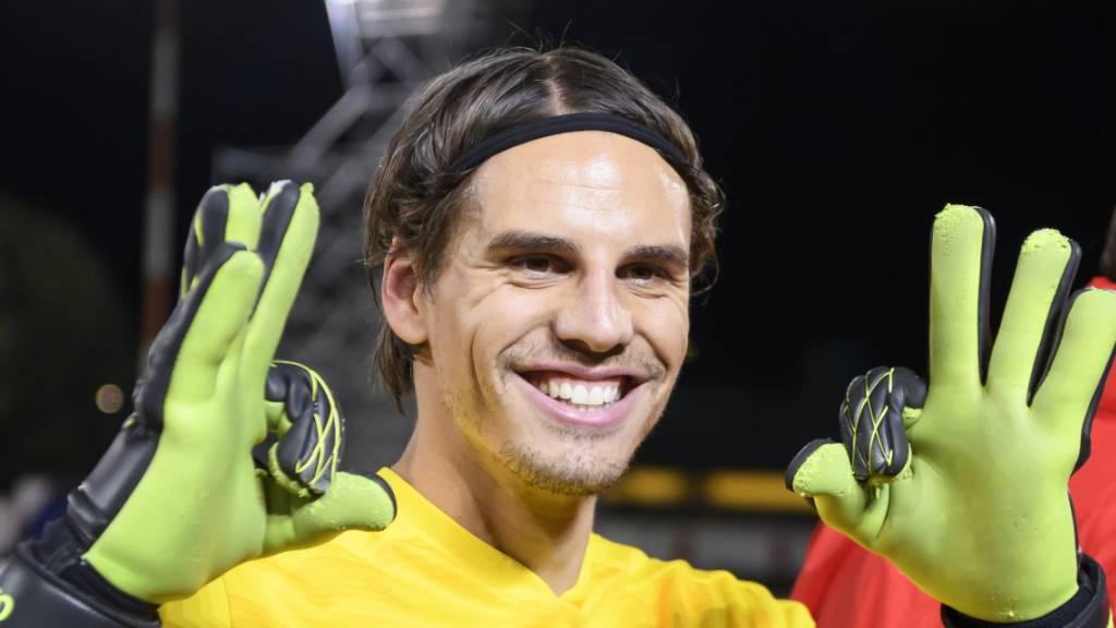 Freude und Genugtuung bei den Schweizer Spielern