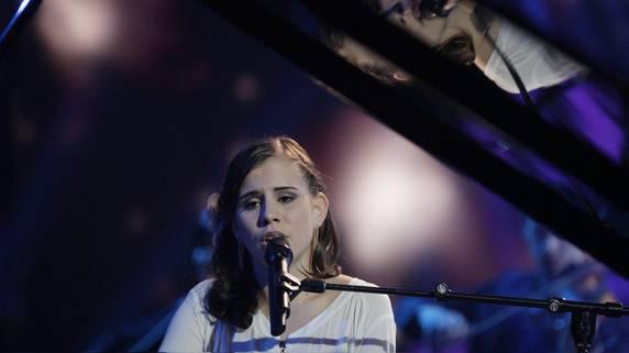 Das grösste Schweizer Talent Eliane Müller wird offiziell in Hochdorf empfangen