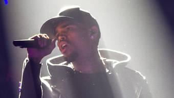 Chris Brown in Basel. Keystone